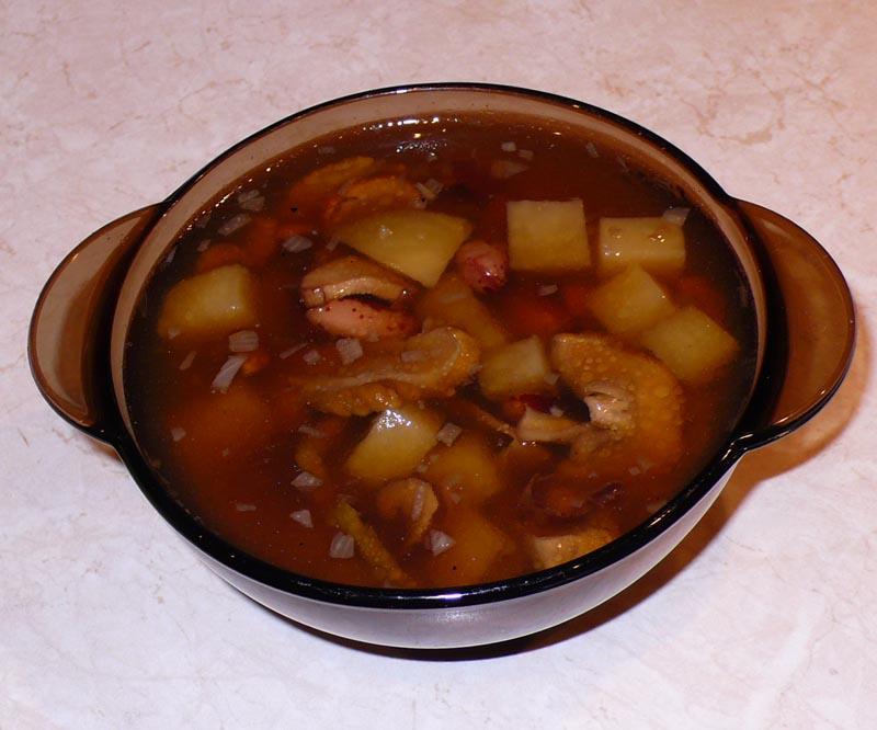 суп из фасоли сырой рецепты