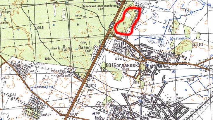 Грибные места на карте