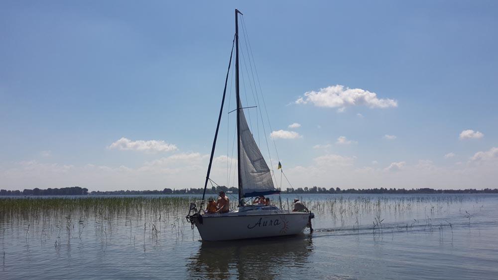 Прогулка на яхте по озеру Свитязь